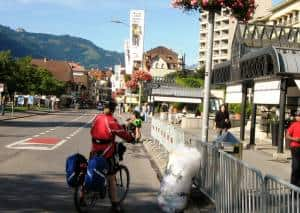 Cycle touring planning