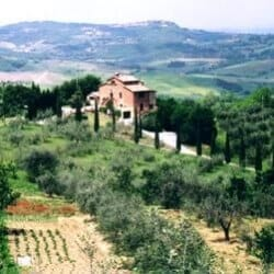 Bicycle touring Tuscany